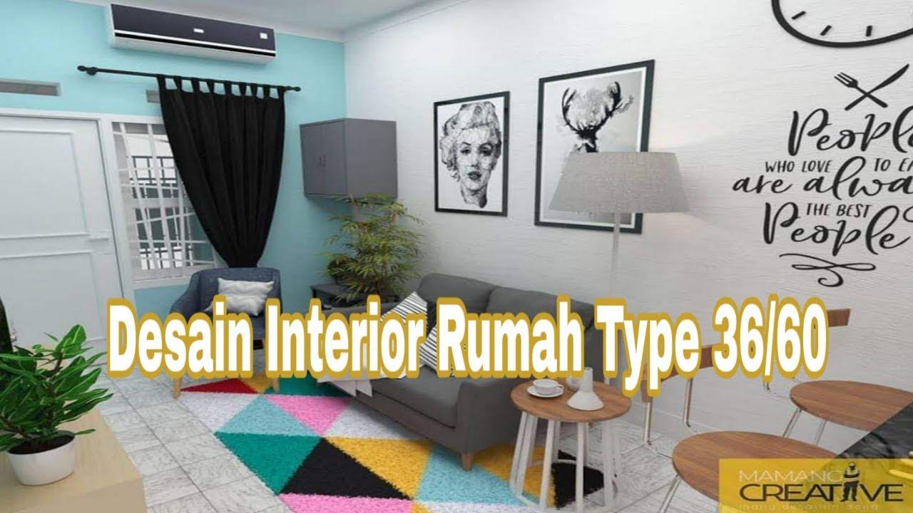 Desain Interior Rumah Type 3660 Yang Rapi Cara Penataannya