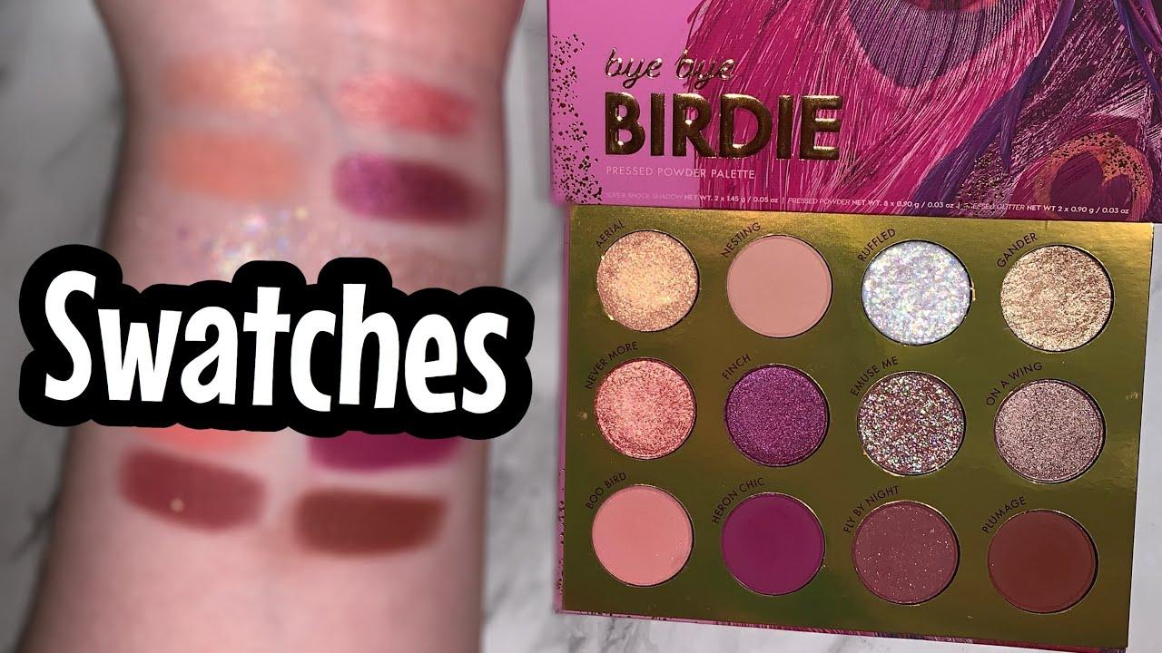 Bye Bye Birdie Eyeshadow Palette by Colourpop #12