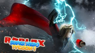 ROBLOX-BUILDING The THOR'S FACTORY (Super Hero Tycoon)