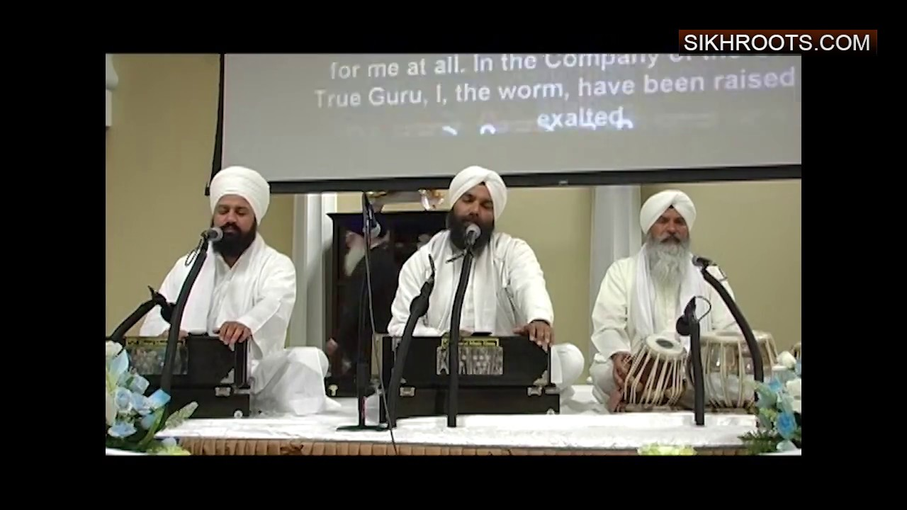 Bhai Niranjan Singh - Sikh Gurdwara San Jose 2012