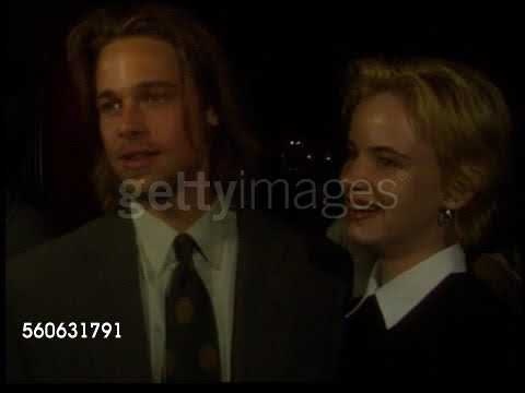 Brad Pitt and Juliette Lewis Interview A River Runs Through It