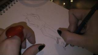 how to draw a fashion design Thumbnail