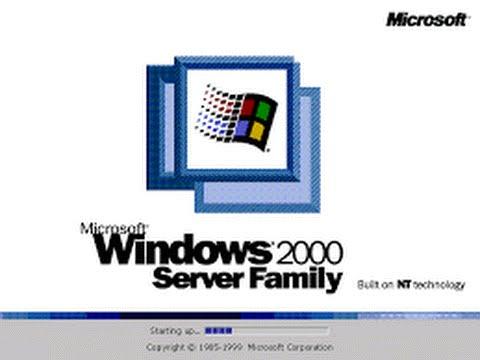 Installation Windows 2000 Server
