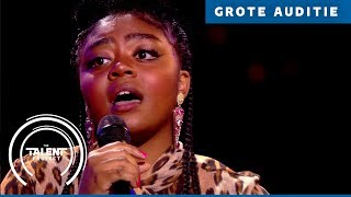 Fabiënne - Beneath Your Beautiful | The Talent Project 2018 | Grote auditie