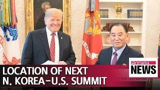 Location chosen for 2nd N. Korea-U.S. summit: Trump