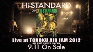 Hi-STANDARD 『Live at TOHOKU AIR JAM 2012』Now On Sale! buy▷http://...