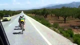 Тренировка спринтеров клуба на сборе в Испании