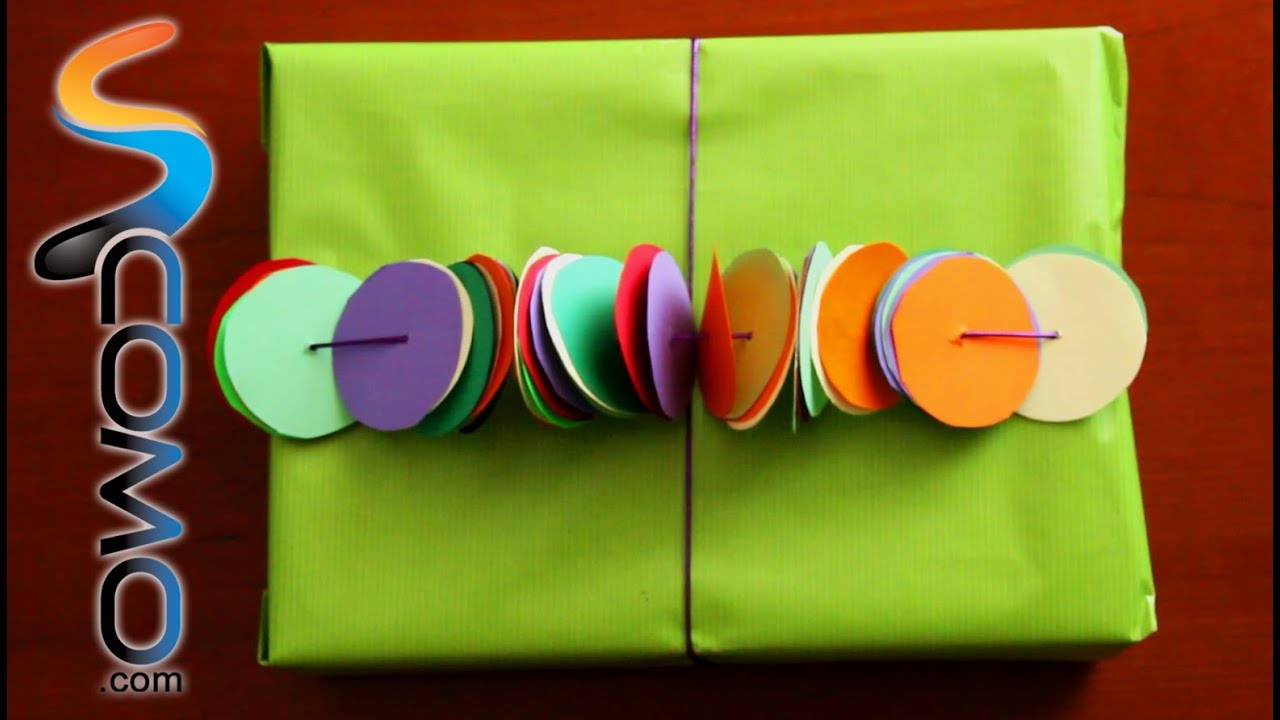 Manualidades con papel de colores - YouTube