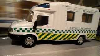 Bbc Tv Casualty Year 2000 Diecast Ldv Paramedic Ambulance