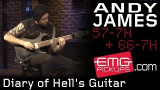 Andy James plays