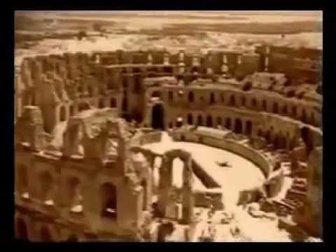 ( Tunisie ) L'Amphitheatre d'El Jem et Les Empereurs Romain d'origine amazighe Berbère