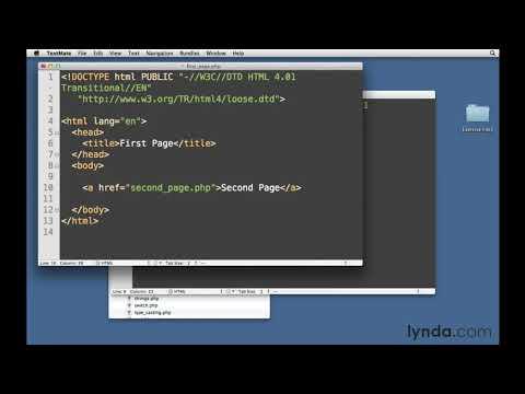 PHP And MySQL Tutorial: Links And URLs | Lynda.com