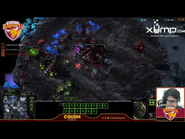 StarCraft II with 3DHizzy and Emetal47 - CSUDH Esports (5/17/2020)