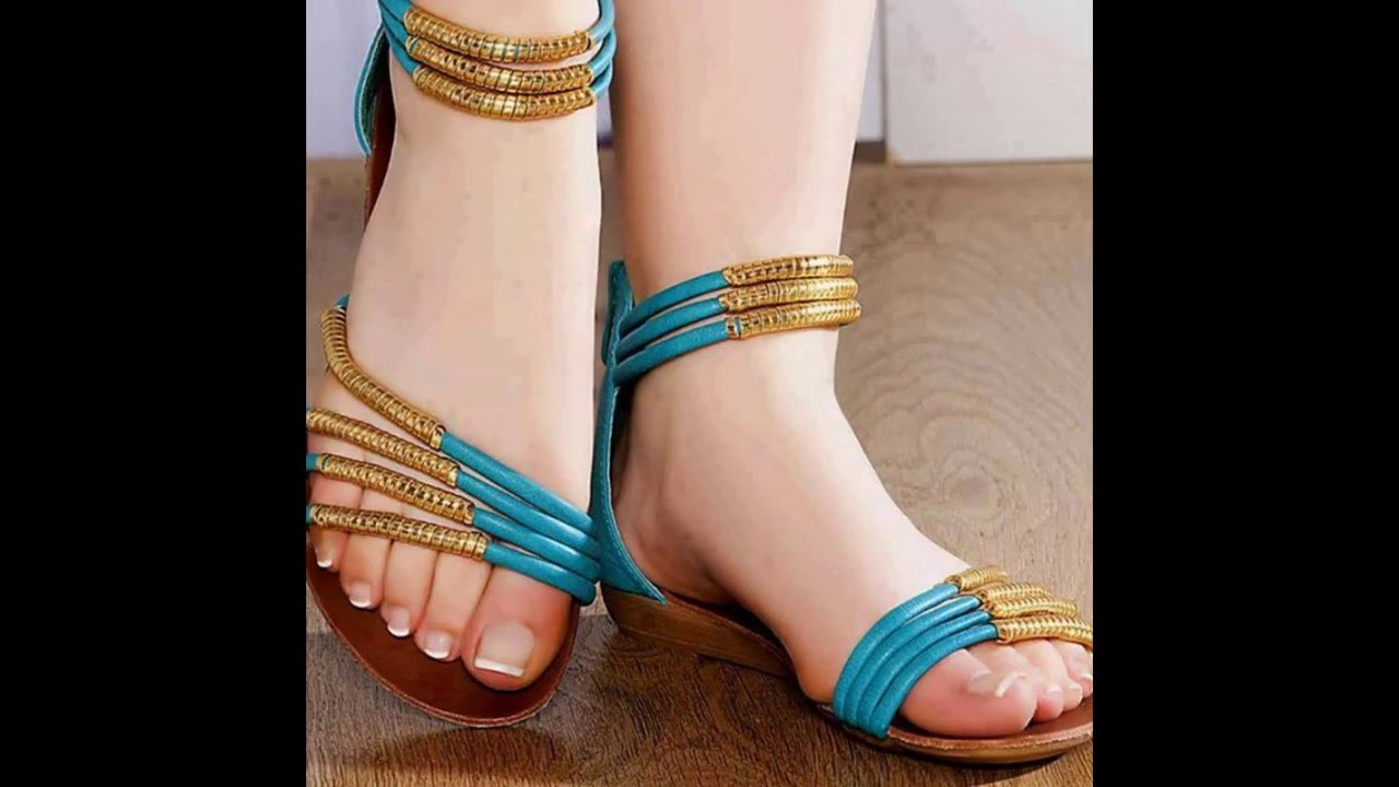 07458f652  أجمل وأشيك صناديل موضة صيف Shoes, Heels, and Sandals From Spring 2016 -  YouTube