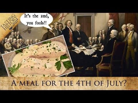A Dish for the First 4th of July... and why it should be on the 2nd.