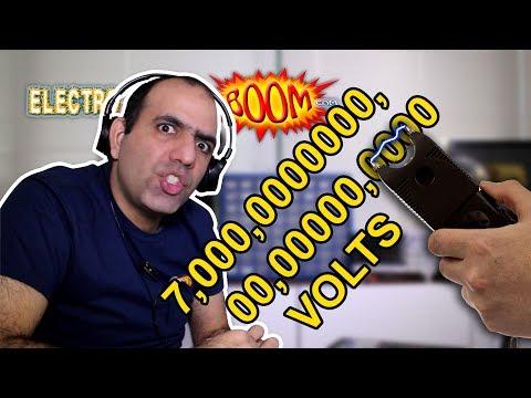 7 MILLION VOLT TASER (stun... thingy)!!!