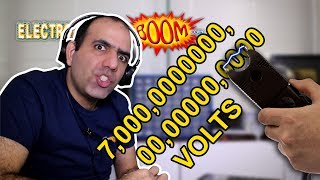 7 MILLION VOLT TASER (stun... thingy)!!!