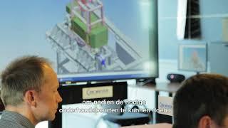 Energieneutrale sluis in de haven van Antwerpen: de hydroturbine