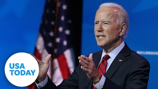 US President Joe Biden makes remarks on the COVID-19 pandemic.  USA TODAY
