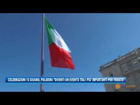 CELEBRAZIONI 12 GIUGNO, POLIDORI: 'DIVENTI EVENTO TRA I PIU' IMPORTANTI PER TRIESTE'   11/06/2021