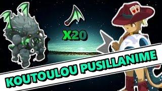 [Dofus] KOUTOULOU SUCCÈS PUSILLANIME À 5 COMMENTÉ !