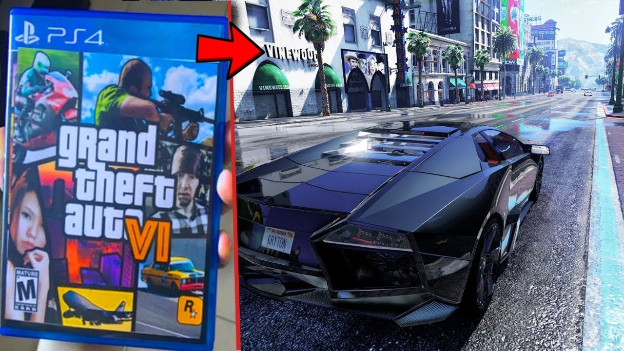 New GTA 6 Gameplay on Youtube?