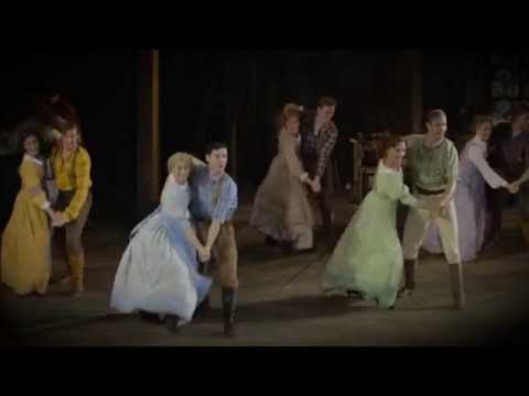 Seven Brides for Seven Brothers Open Air Theatre Trailer 2015