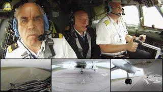 Men At Work! Air Urga Crew lands classic Antonov 26 - watch and enjoy true Aviators! [AirClips]