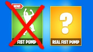 THE REAL FIST PUMP EMOTE (Fortnite Battle Royale)