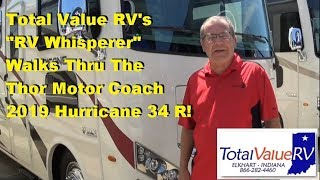 2019 Thor Motor Coach Hurricane 34 R with Total Value RV's