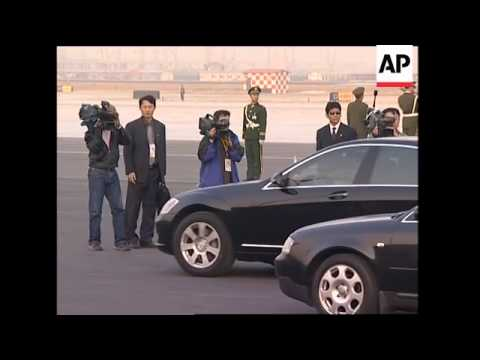 Angola and Somalia leaders arrive, Sudanese President meets Hu Jintao