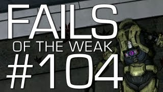 Fails of the Weak: Ep. 104 - Funny Halo 4 Bloopers and Screw Ups! | Rooster Teeth