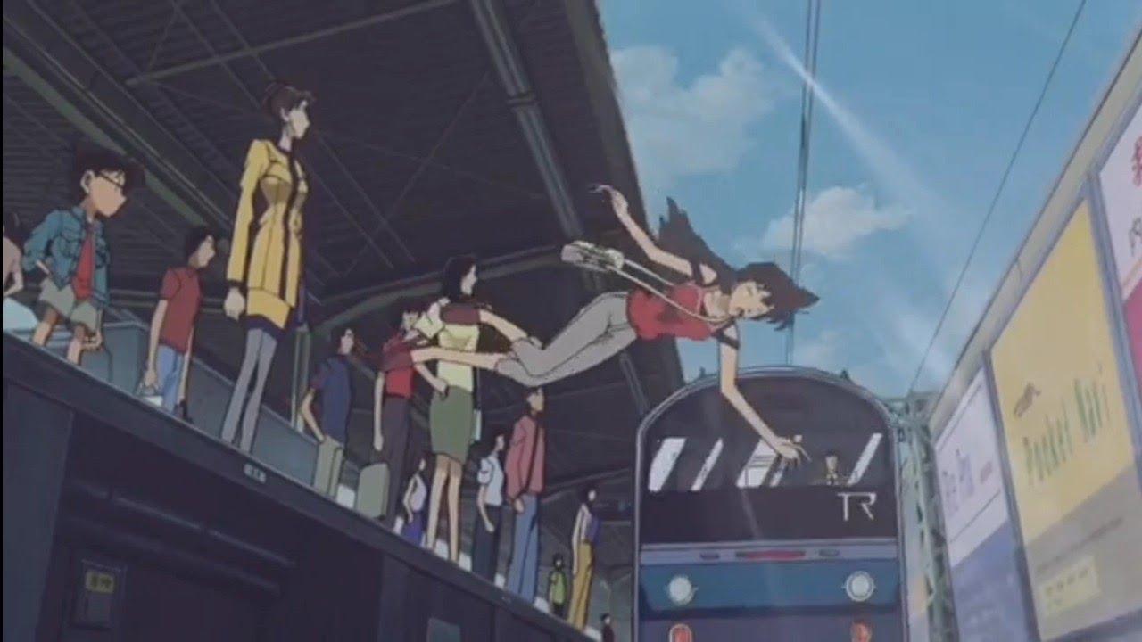 Conan Saves Ran From The Train - YouTube