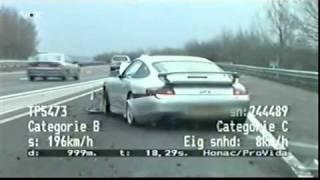 Porsche haut vor den Bullen ab!