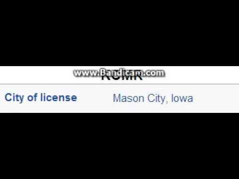 KCMR 97.9 Mason City, IA TOTH ID at 2:00 p.m. 9/21/2014