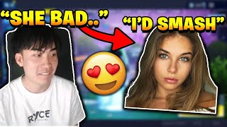 RiceGum Slides Into Gabrielle Moses DM's and Reacts To Jack Brinkman's Trending