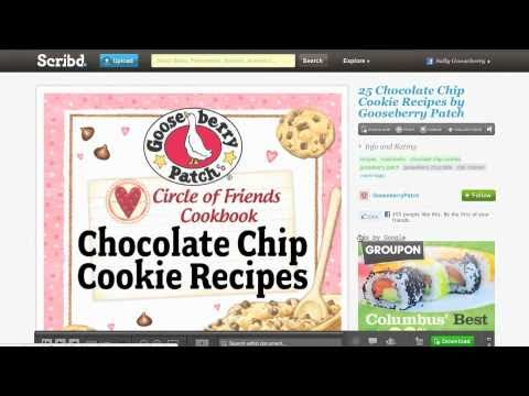 How To DOWNLOAD Recipes From Our Circle Of Friends Cookbook