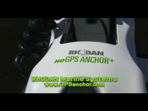 Rhodan Gps Anchor Trolling Motor Youtube