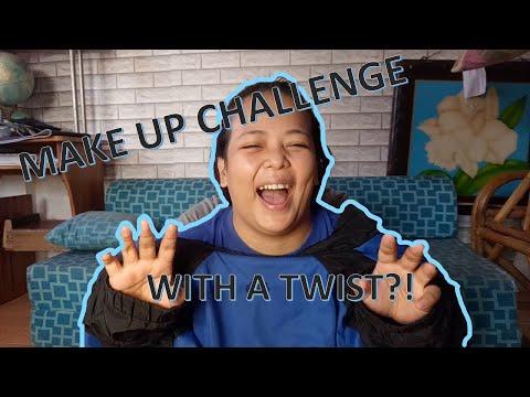 VLOG#7 MAKE UP CHALLENGE WITH A TWIST