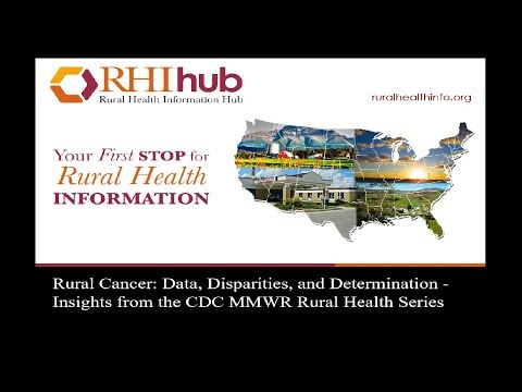 Rural Cancer: Data, Disparities, and Determination Insights from the CDC MMWR Rural Health Series