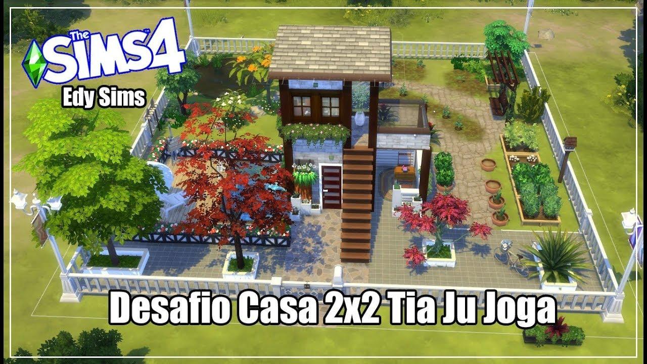 The Sims™ 4 DESAFIO CASA 2X2 THE SIMS 4