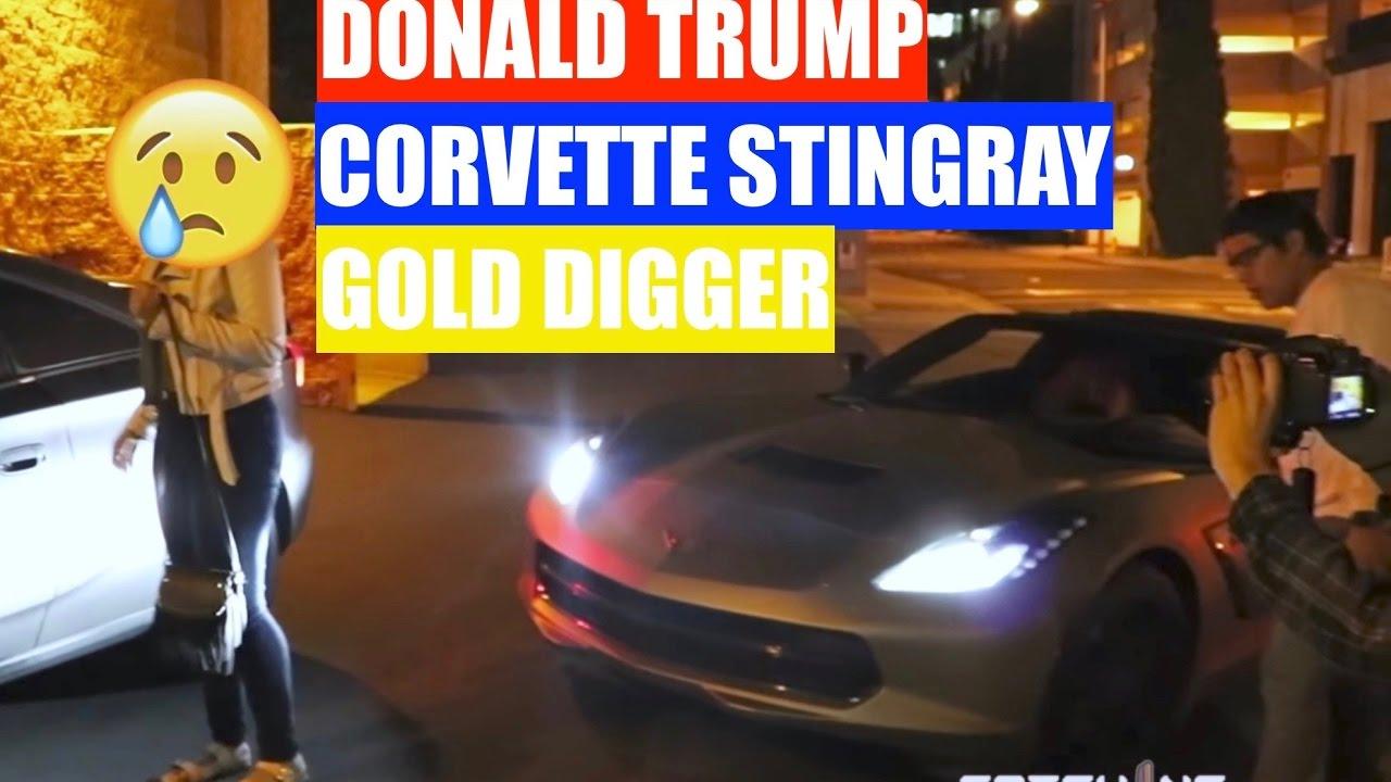 This gold digger prank celebrity