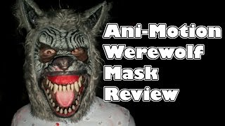 Ani-Motion Werewolf Mask | review