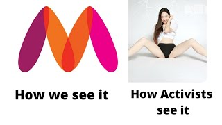 Double meaning logos and Myntra logo controversy