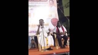 Nellai Kannan campaigning for Sankarankovil MDMK candidate