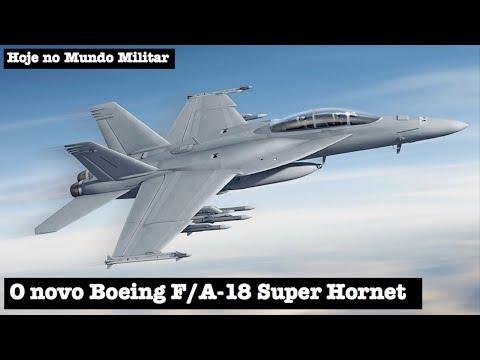 O novo Boeing F/A-18 Super Hornet