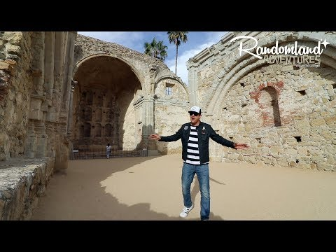 Mission San Juan Capistrano, Ruins & Relaxation