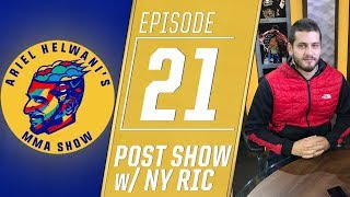 UFC's 25th anniversary card recap with New York Ric   Ariel Helwani's MMA Post-Show: Episode 21