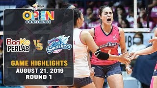 BanKo vs. Creamline - August 21, 2019 | Game Highlights | #PVL2019