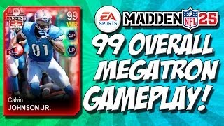 Madden 25 Ultimate Team - 99 Overall Calvin Johnson - Can